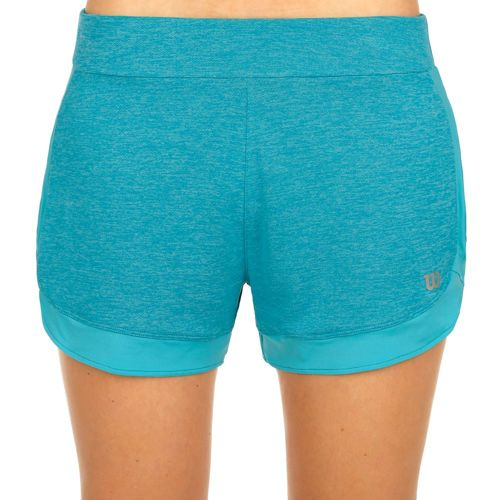 """Wilson Condition Knit 3.5"""" Shorts Women - Turquoise, Silver"""