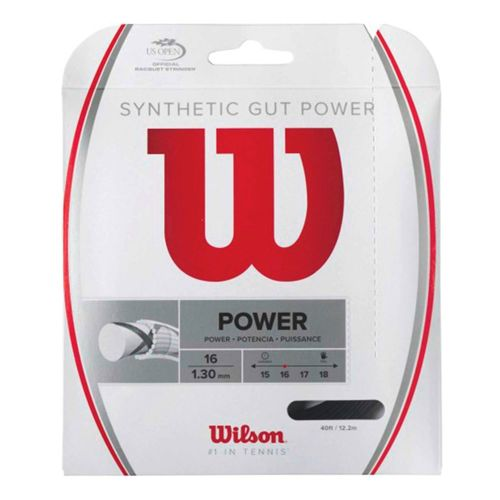 Wilson Synthetic Gut Power String Set 12,2m - Black