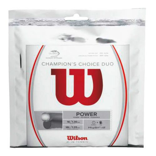 Wilson Champions Choice Duo, Silber String Set 12,2m - Silver