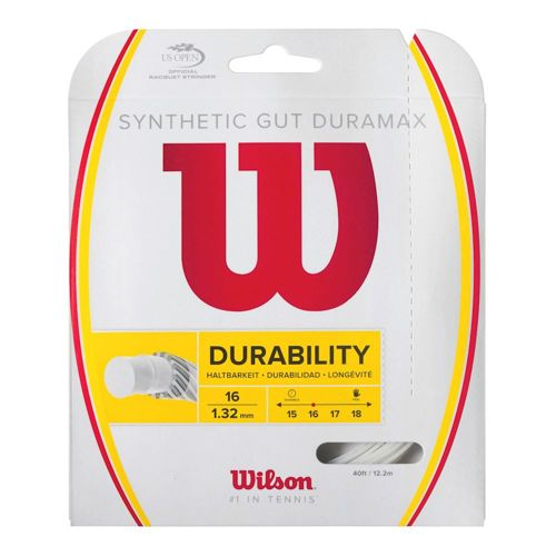 Wilson Synthetic Gut Duramax String Set 12,2m - White