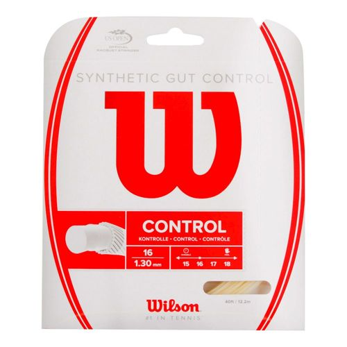 Wilson Synthetic Gut Control String Set 12,2m - Ecru