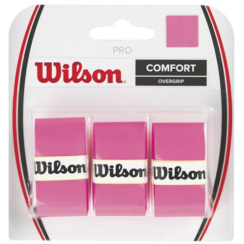 Wilson Pro Overgrip 3 Pack - Pink