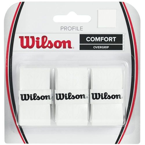 Wilson Profile Overgrip 3 Pack - White
