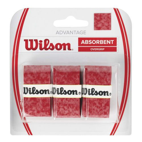 Wilson Advantage Overgrip 3 Pack - Red