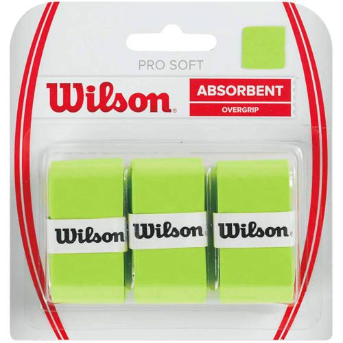 Wilson Soft Overgrip 3 Pack - Green