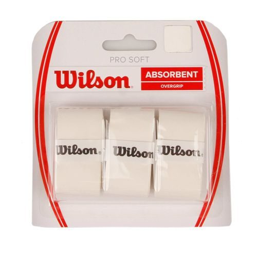 Wilson Soft Overgrip 3 Pack - White