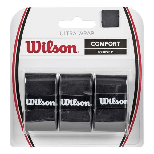 Wilson Ultra Wrap 3 Pack - Black