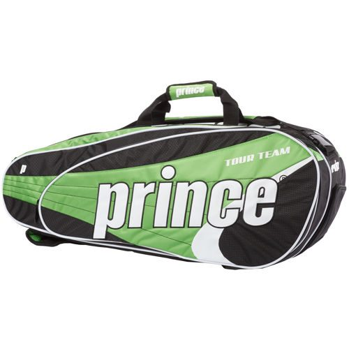 Prince Tour Team 9 Pack Racket Bag - Green, Black