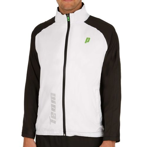 Prince Warm Up Jacket Training Jacket Men - White, Black