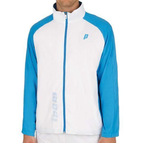 Prince Warm Up Jacket Training Jacket Men - White, Blue