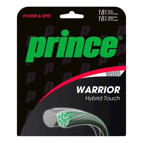 Prince Warrior Hybrid Touch String Set 12m - Silver, Multicoloured