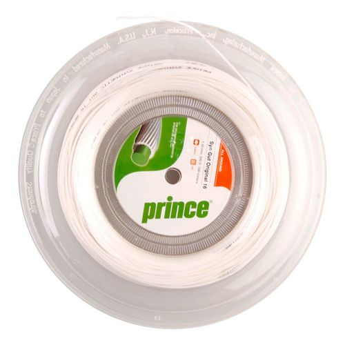 Prince Synthetic Gut Original String Reel 100m - White