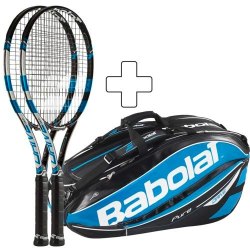 Babolat 2 X Pure Drive Tour Plus Tennis Bag