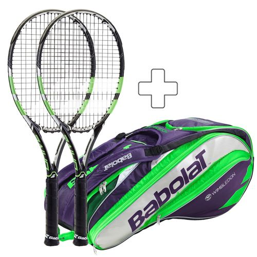 Babolat 2 X Pure Drive Wimbledon Plus Tennis Bag