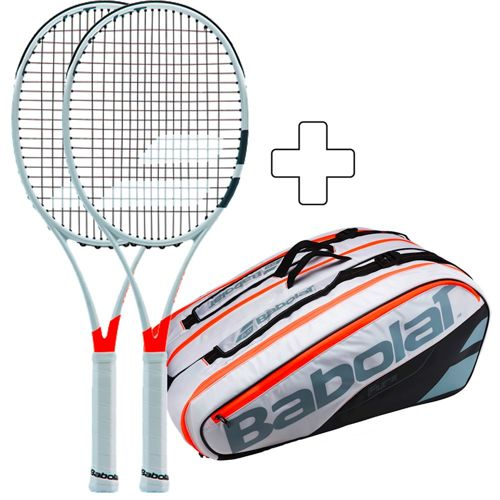 Babolat 2 X Pure Strike 100 16/19 Plus Tennis Bag