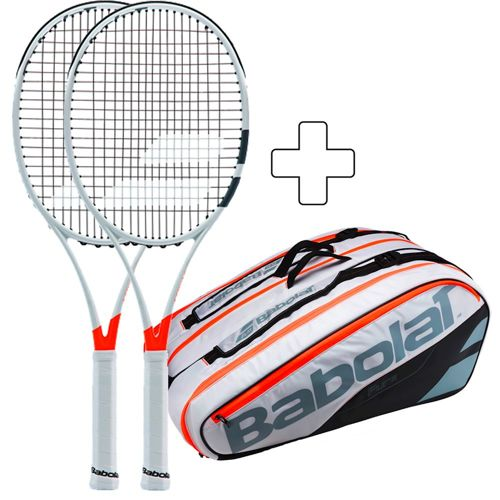 Babolat 2 X Pure Strike Team Plus Tennis Bag