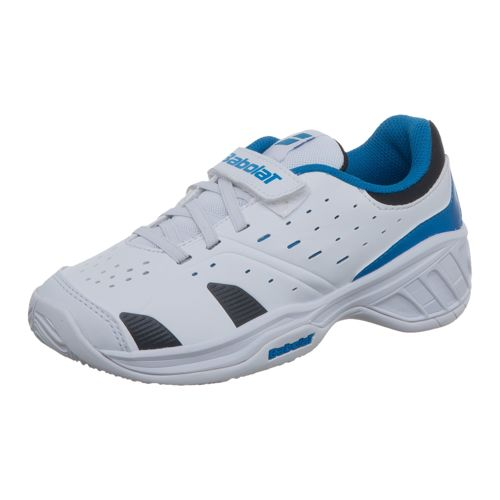 Babolat Juniors Drive 3 All Court Shoe Kids - White, Blue