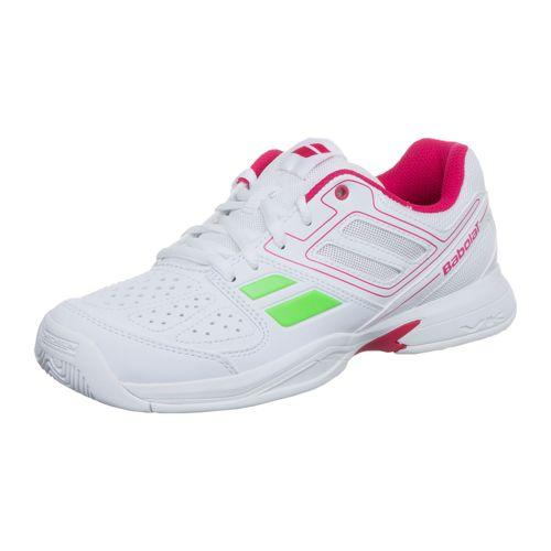 Babolat Pulsion Kid All Court Shoe Kids - White, Pink