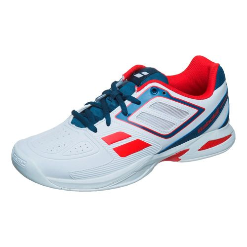 Babolat Propulse Team Indoor Carpet Shoe Kids - White