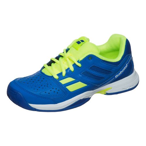 Babolat Juniors Pulsion Allcourt All Court Shoe Kids - Blue, Yellow
