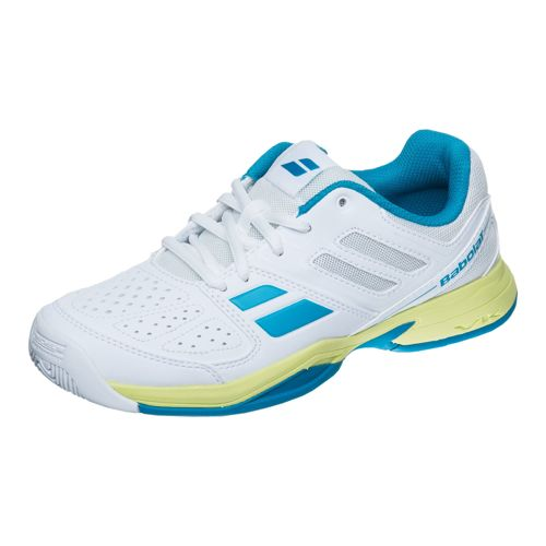 Babolat Juniors Pulsion All Court Shoe Kids - White, Blue