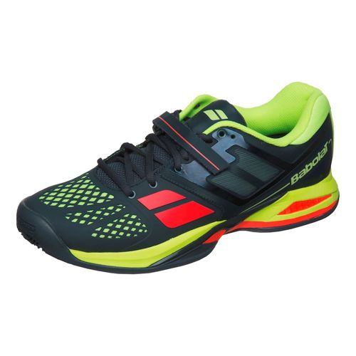 Babolat Propulse Clay Padel Clay Court Shoe Men - Grey, Yellow