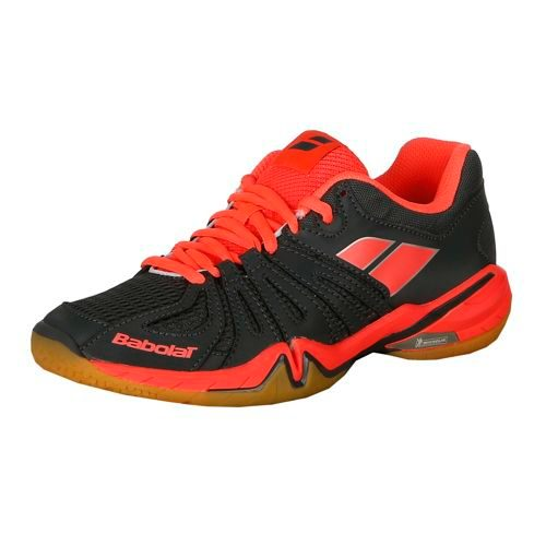Babolat Shadow Spirit Badminton Shoes Women - Anthracite, Pink