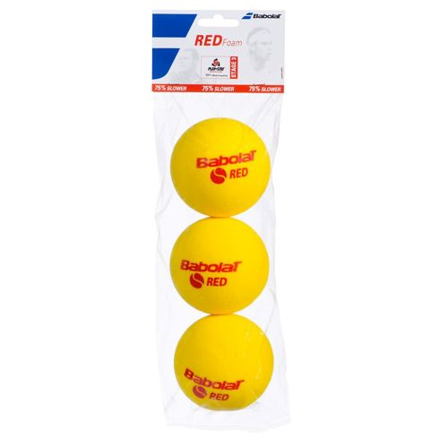 Babolat Red Foam (Stage 3) 3 Pack