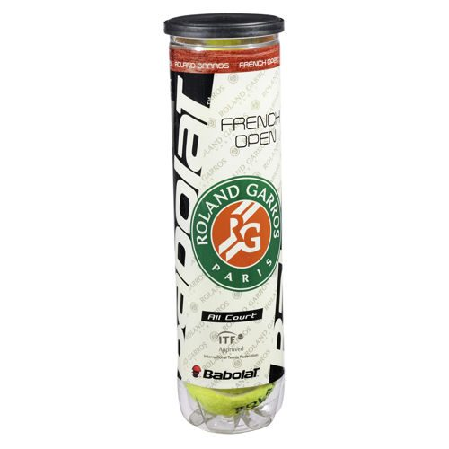 Babolat French Open All Court 4 Ball Tube