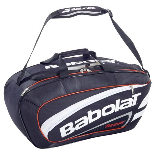 Babolat Team Sport Bag Line Racket Bag - Black, Red