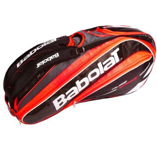 Babolat Pure Strike Racket Holder X9 Racket Bag - Neon Red