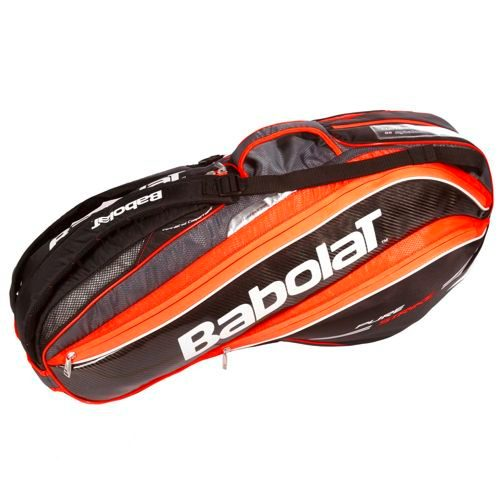 Babolat Pure Strike Racket Holder X6 Racket Bag - Neon Red