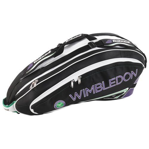 Babolat Wimbledon Racket Holder X6 Team Racket Bag - Black