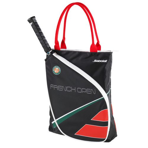 Babolat Tote Bag French Open Sports Bag - Black, Red