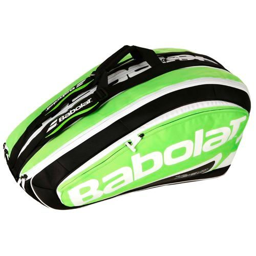 Babolat Team Racket Holder X12 Racket Bag Exclusive - Green