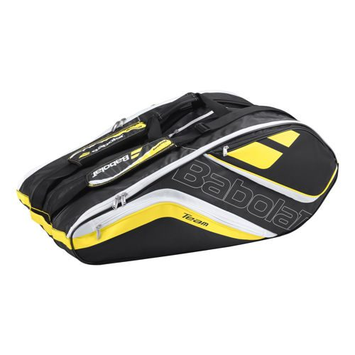 Babolat Team Racket Holder X12 Line Racket Bag - Yellow