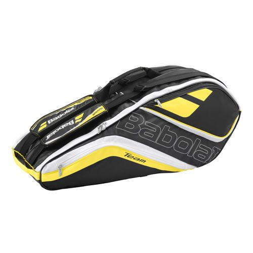 Babolat Team Racket Holder X6 Line Racket Bag - Yellow