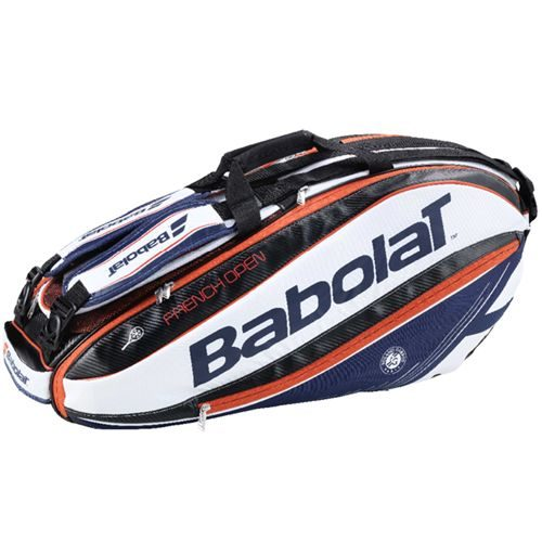 Babolat Pure Aero French Open Racket Holder X6 Racket Bag - Blue, Red