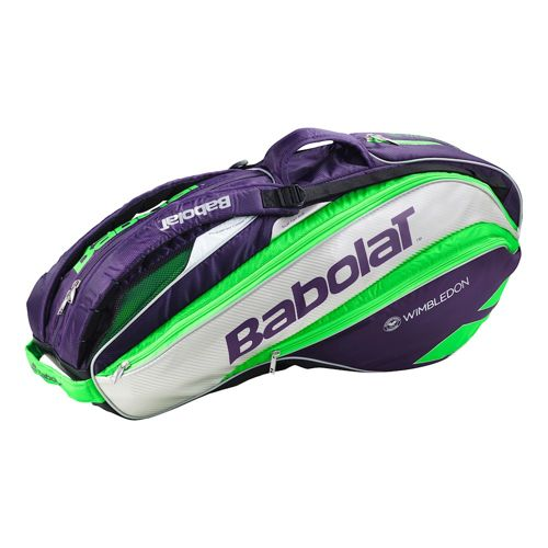 Babolat Pure Strike Wimbledon Racket Holder X6 Racket Bag - Violet, Green