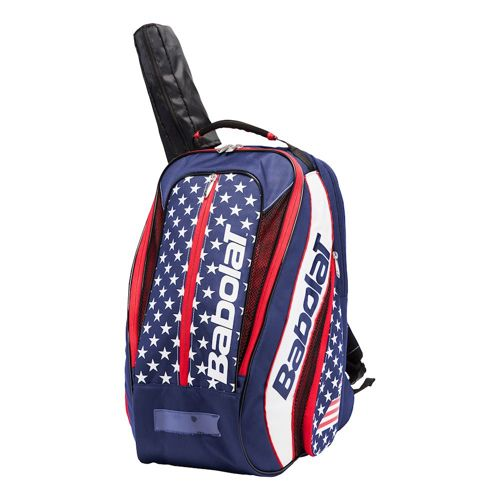 Babolat Aero VS Stars And Stripes Backpack - Blue, Red