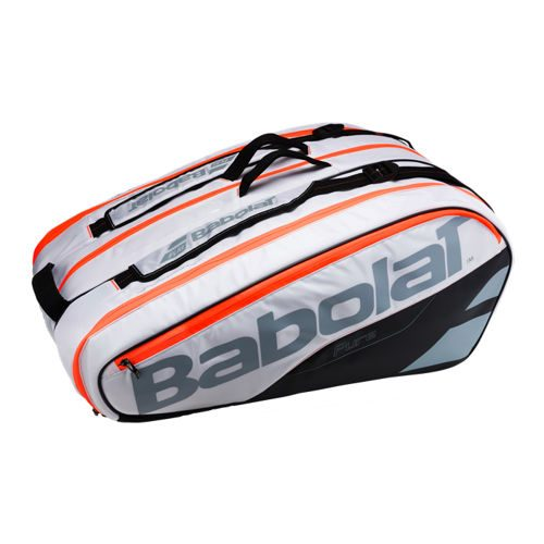 Babolat Pure Strike Racket Holder X12 Racket Bag - White