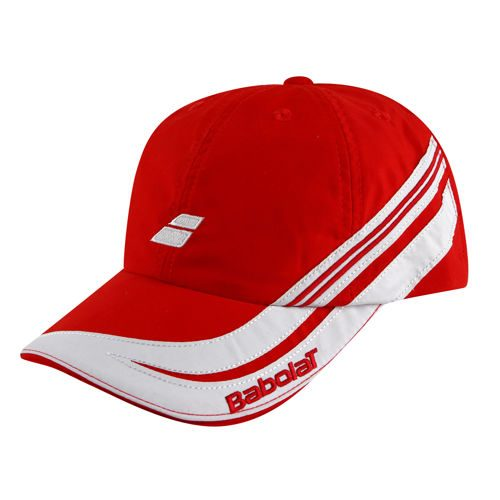 Babolat Club III Cap Kids - Red, White