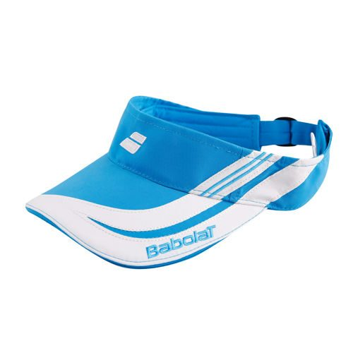 Babolat Club III Visor Kids - Blue, White