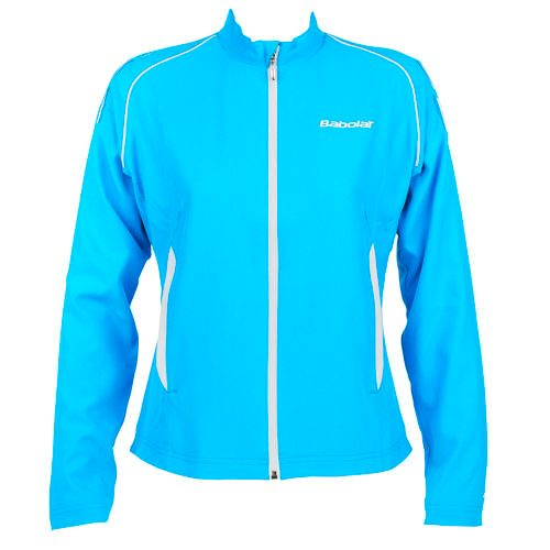 Babolat Match Core Tracksuit Jacket Girl Training Jacket Girls - Turquoise