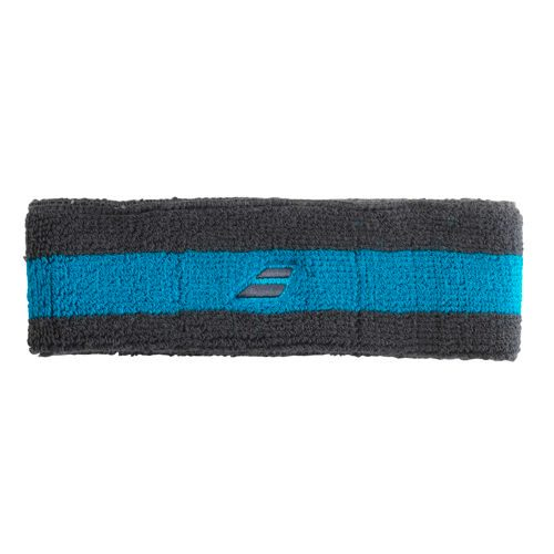 Babolat Headband Double Line Pack Head Band 1 Pack Reversible - Blue, Yellow