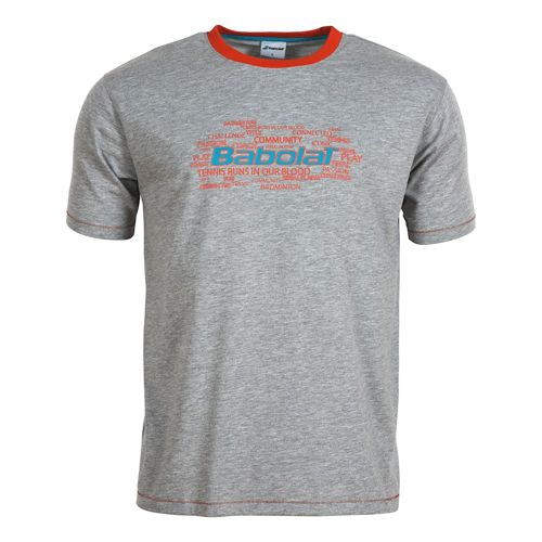 Babolat Training Basic T-Shirt Boys - Grey