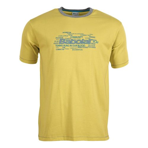 Babolat Training Basic T-Shirt Boys - Yellow