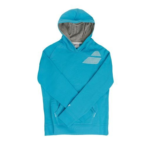 Babolat Training Basic Sweat Hoody Girls - Turquoise