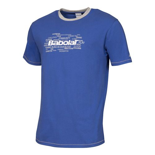Babolat Training Basic T-Shirt Boys - Dark Blue