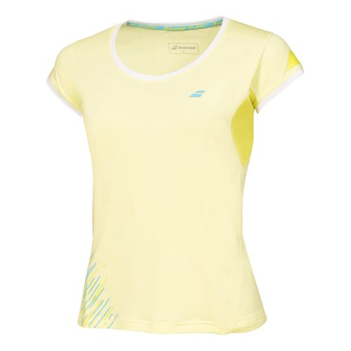 Babolat Performance Girl Capsleeve Girls - Yellow